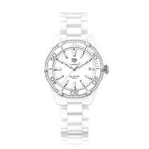 TAG Heuer Aquaracer Quartz Ceramic White Dial Ladies Watch...