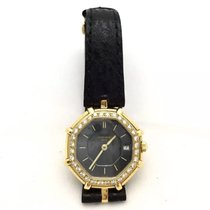 Gérald Genta 18k Solid Yellow Gold Ladies Watch W/ Factory...