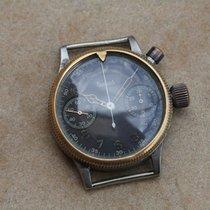 Hanhart military pilot`s WWII chronograph cal 40