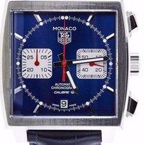 TAG Heuer Monaco Calibre 12 Chronograph Square Auto Men Watch...
