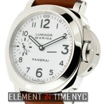 파네라이 (Panerai) Luminor Collection Stainless Steel White Arabic...