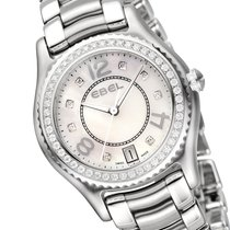 Ebel X-1 Diamonds Damenuhr 1216110 Edelstahl Diamanten perlmutt