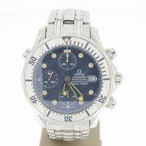 Omega Seamaster Diver Chronograph 300m Yellow Hands (B&P20...