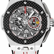 Hublot Big Bang Ferrari 45mm Big Bang Ferrari White Ceramic...