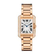 Cartier Tank Anglaise Quartz Ladies Watch Ref WT100002