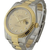 Rolex Used 116333_champ_used Mens 2-Tone Datejust II with...