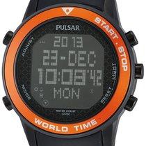 Pulsar PQ2031X1 Digital Worldtimer Chrono 48 mm 100M