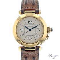 Cartier Pasha 38mm Automatic Yellow Gold