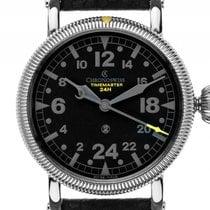 Chronoswiss Timemaster 24Std Day and Night Stahl Handaufzug...