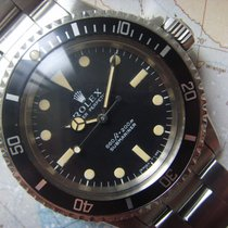 Rolex 1970 STUNNING 5513 SUBMARINER CREAM PATINA SERIF FAT FONT