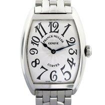 Franck Muller Cintree Curvex 7502 QZ Stainless Steel Ladies Watch