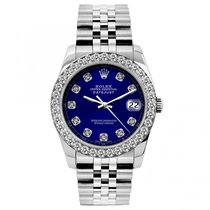Rolex Datejust Ladies' 26mm Blue Dial Stainless Steel...