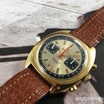 Cauny Reloj cronógrafo antiguo suizo de cuerda  Oversize...