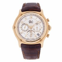 Ebel Le Modulor Chronograph in 18K Yellow Gold 8137240...