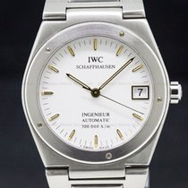 IWC 3508 Ingenieur Automatic White Dial SS / SS RARE LIMITED...