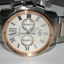 Cartier Calibre Chronograph 18K Rose Gold