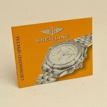 Breitling Crosswind Special Manual Info Booklet