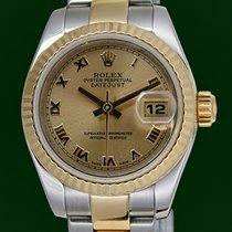 Ρολεξ (Rolex) DateJust 179173 Lady 18k Gold Steel 2007 D Series