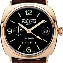 Panerai Radiomir 10 Day GMT PAM00273 18K Solid Rose Gold...