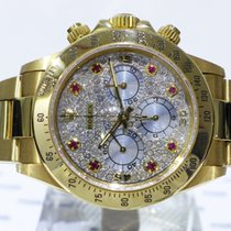 Rolex Daytona Zenith Diamonds & Rubies - 16528