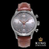 Alpina Alpiner Automatic Grey and Brown Chronograph
