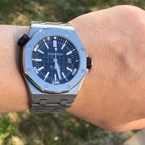 오드마피게 (Audemars Piguet) Ss Royal Oak Offshore Diver 42mm Box...