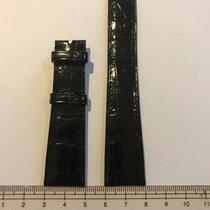 Patek Philippe 20mm x 16mm thin black strap