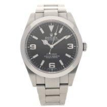 Rolex Explorer 214270 - Gents Watch - Black Dial - 2012