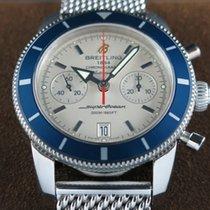 Breitling Superocean Héritage 44 Chronograph Blue Bezel