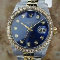 Rolex Ref 16013 Swiss Made Men's 18K Gold SS Diamond...
