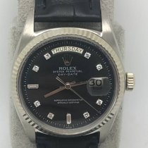 勞力士 (Rolex) Vintage DayDate 1803 18k WG with Original Black...