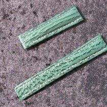 Breitling Haiarmband 19/16mm Grün Green Verde Für Faltschliesse