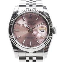 勞力士 (Rolex) Datejust White Gold And Steel Pink Automatic 116234PK