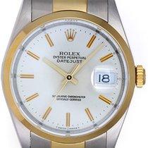 Rolex Datejust Men's 2-Tone Steel & Gold Watch Oyster...