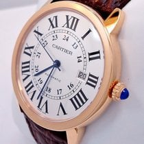 Cartier Ronde Solo Xl 42mm Auto 18k Rose Gold Watch W6701009...