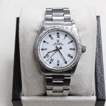 Rolex Midsize Oyster Perpetual 67480 Stainless Steel 31mm...