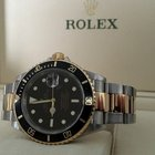 Rolex Oyster Submariner Gold Steel Black Dial 40 mm (2004)