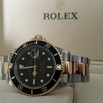 Rolex Oyster Submariner Gold Steel Black Dial 40 mm (2007)
