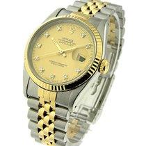 Rolex Used 16233_champ_dd_used Mens 2-Tone Datejust - circa...
