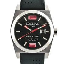 Locman Stealth 020500BKNRD0GOK Automatic Men's Watch