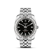 Tudor CLASSIC DATE  Automatic Stainless Steel Black 21010