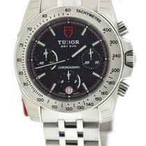 Τούντορ (Tudor) Sport Chronograph Black Dial Stainless Steel