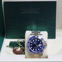 ロレックス (Rolex) Submariner 116613 Blue 18K /yellow Gold &...
