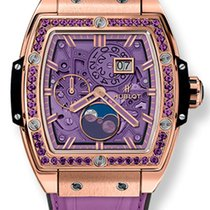Hublot Spirit of Big Bang Moonphase Purple 18K King Gold...