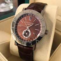 Bulgari White Gold Cherry Dial Limited Edition