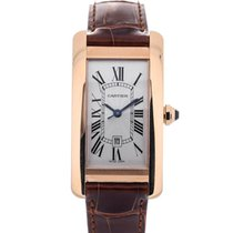 Cartier Tank Americaine M Red Gold