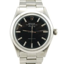 Rolex Air King Precision Stainless Steel Black Dial - 5500