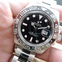 Rolex GMT-MASTER 2 116710LN Stainless Steel Ceramic Bezel Full...