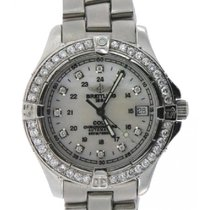 Breitling Colt Ladies' 37mm White Dial Stainless Steel...