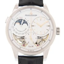 Jaeger-LeCoultre Duometre 18k White Gold White Manual Wind...